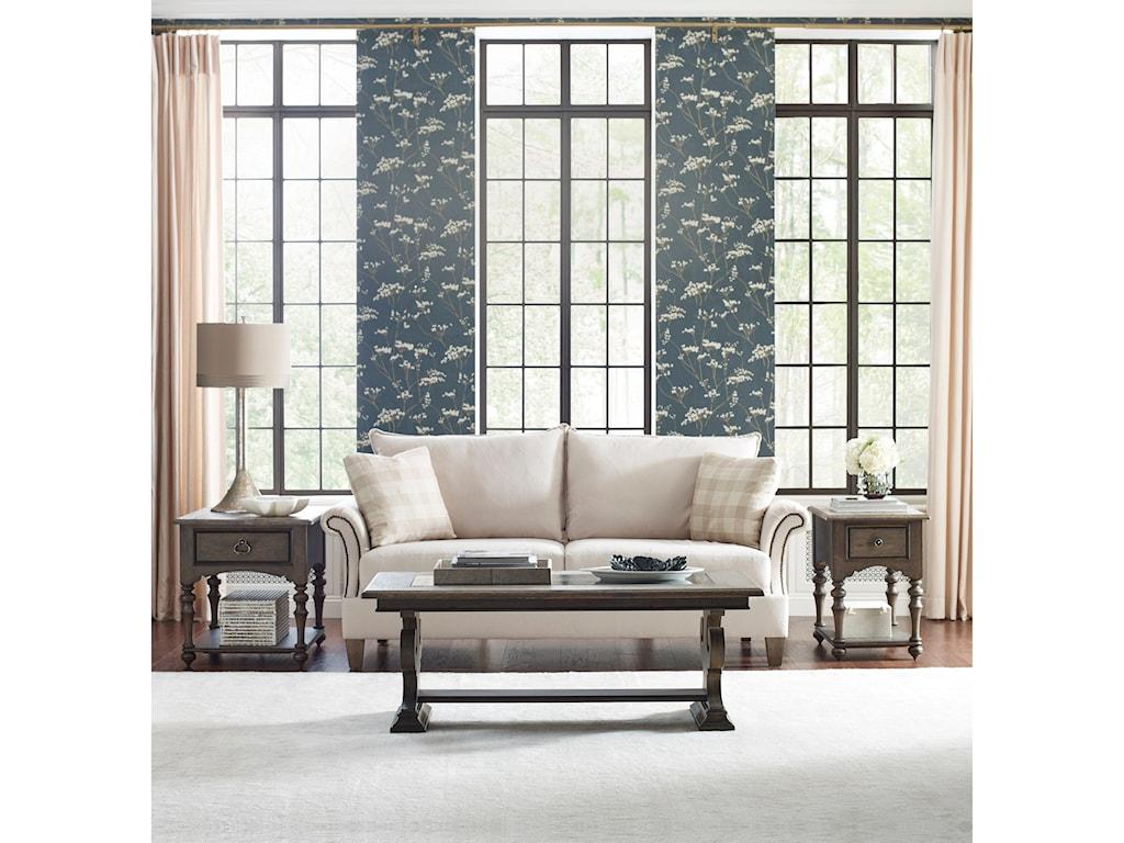 Kincaid Furniture GreysonWheeler Chairside Table