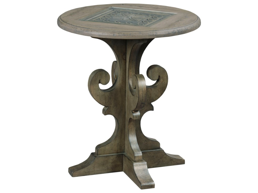 Kincaid Furniture GreysonWarrick Round End Table