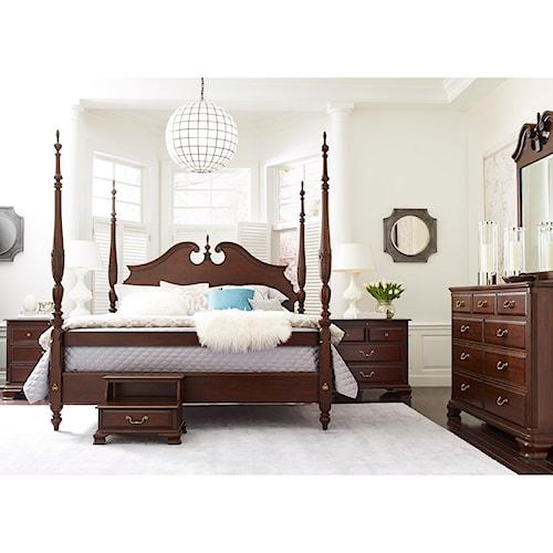 Kincaid Furniture Hadleigh Queen Bedroom Group