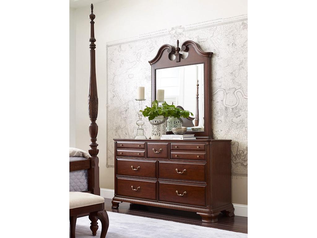 Kincaid Furniture HadleighVertical Pediment Mirror