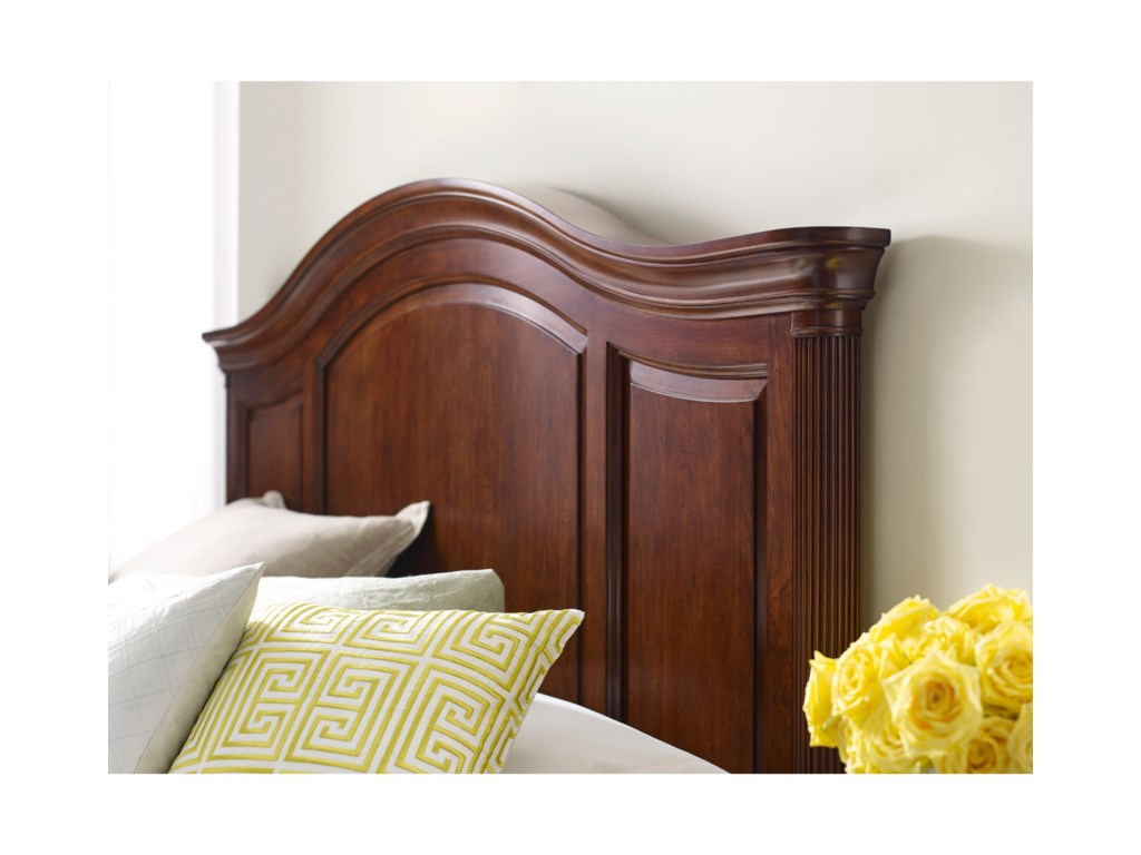 Kincaid Furniture HadleighArched Panel Bed Cali King Package