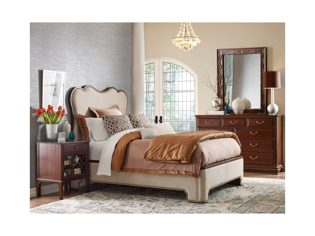 Kincaid Furniture HadleighUpholstered Bed 6/0