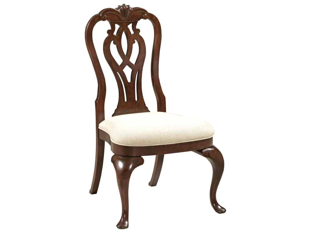 Kincaid Furniture HadleighQueen Anne Side Chair