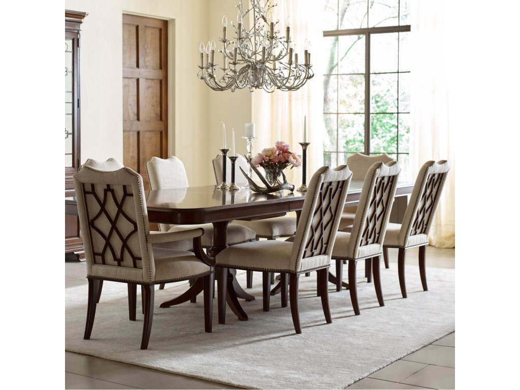 Kincaid Furniture Hadleigh9 Pc Dining Set