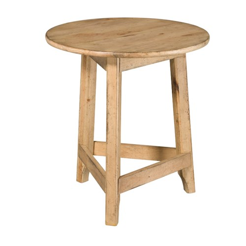 Kincaid Furniture Homecoming 24in Round Accent Table