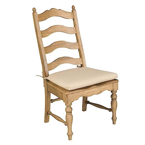 Kincaid Furniture Homecoming Ladderback Side Chair