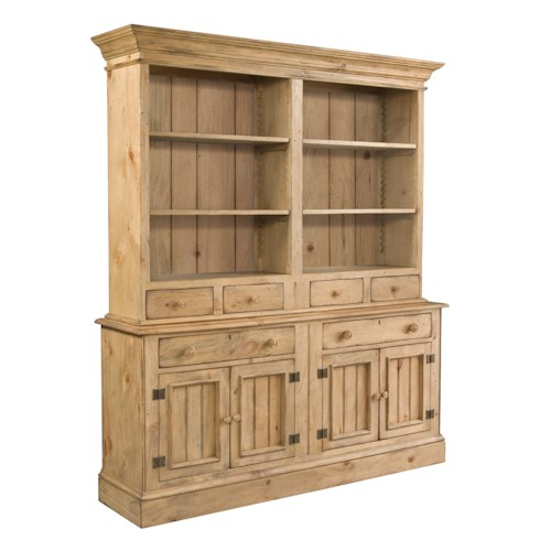 Kincaid Furniture Homecoming Buffet & Open Hutch