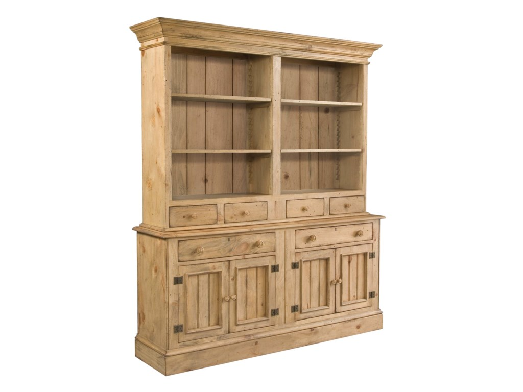 Shown with Open Hutch