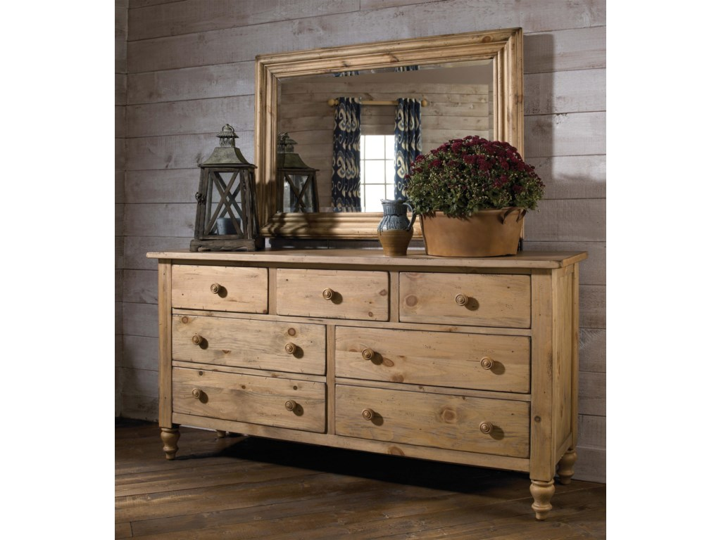 Also Shown with Triple Dresser
