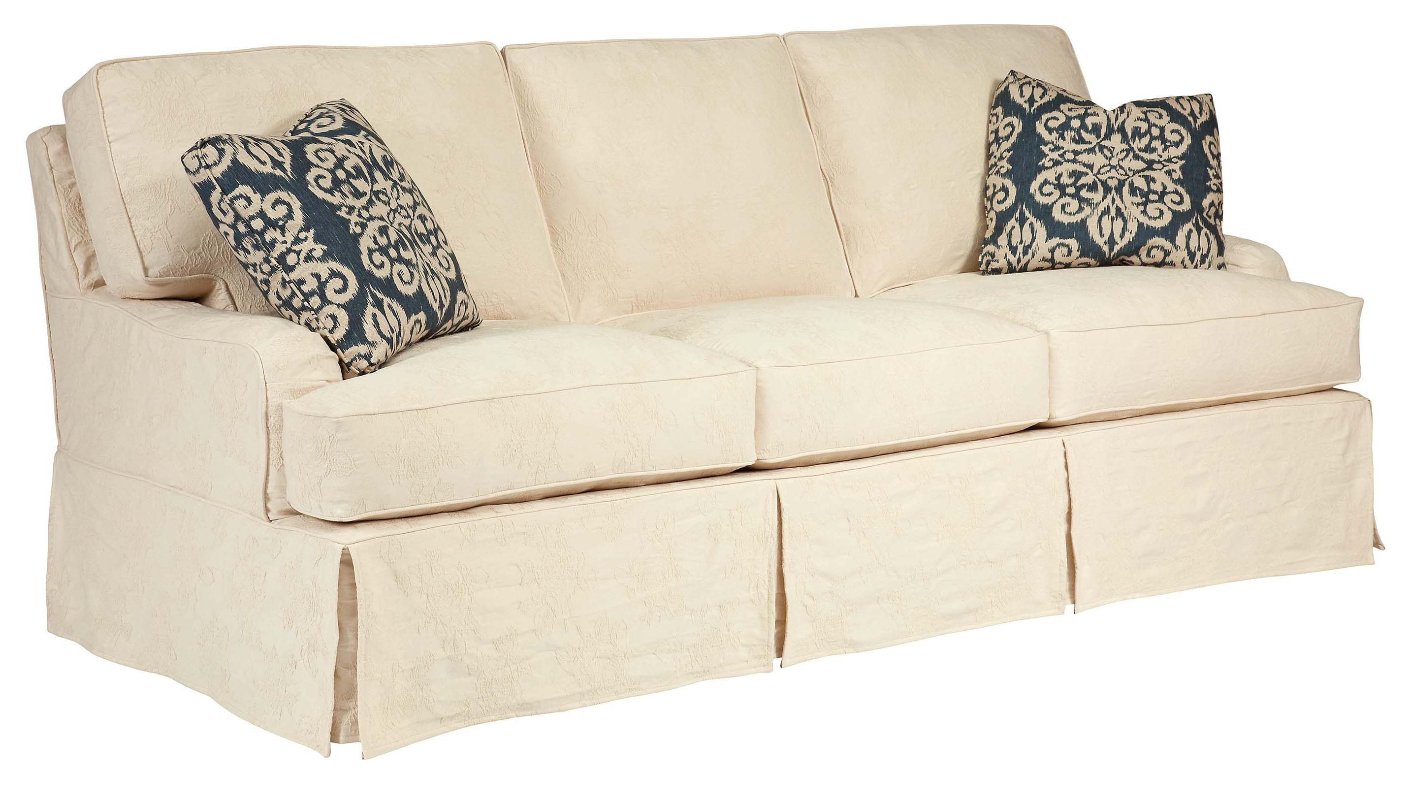 Kincaid Furniture Homecoming Simone Slipcover Sofa