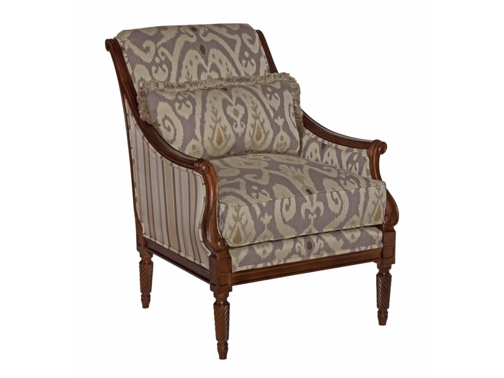 Kincaid Furniture Accent ChairsWooden Arm Chair