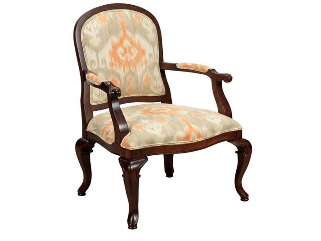 Kincaid Furniture Accent ChairsExposed Wood Chair