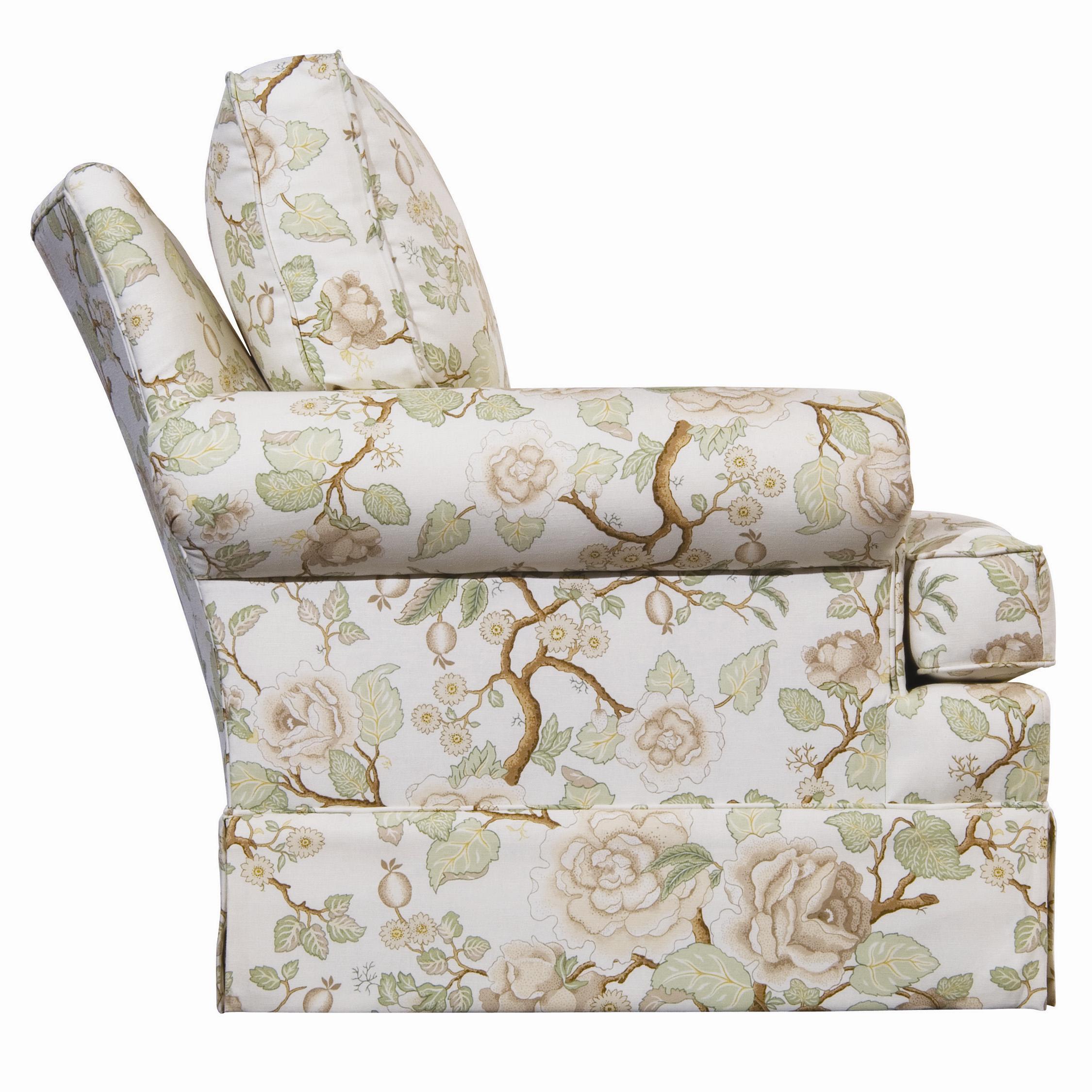 Kincaid Furniture Accent Chairs Swivel Rocker Accent Chair