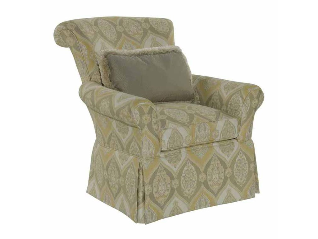 Kincaid Furniture Accent ChairsRolled Arm Chair