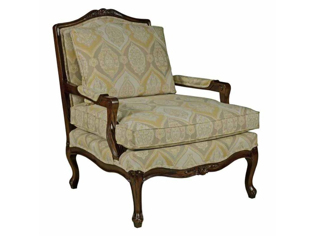 Kincaid Furniture Accent ChairsExposed Wood Accent Chair