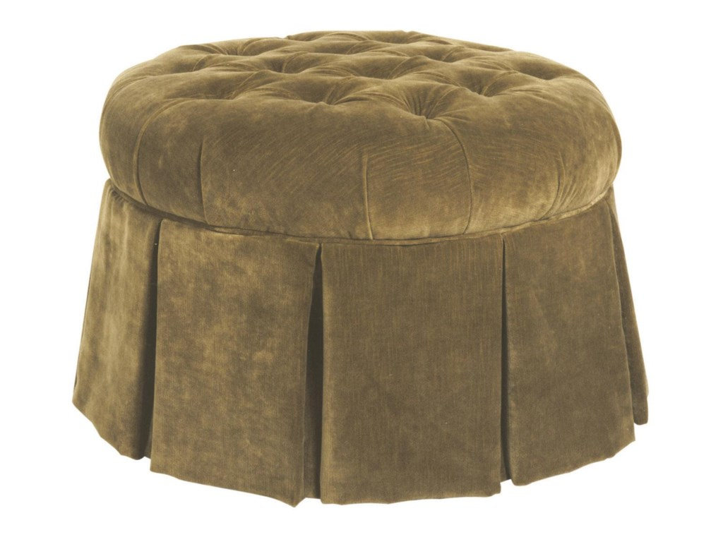 Kincaid Furniture Accent ChairsSkirted Ottoman
