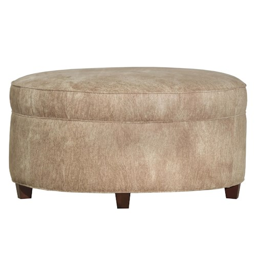 Kincaid Furniture Accent Chairs Round Accent Ottoman
