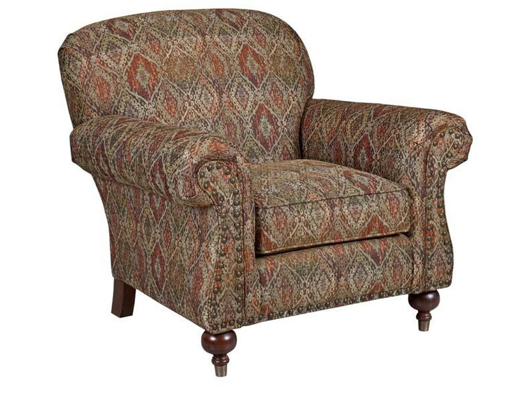 Kincaid Furniture Accent ChairsRolled Arm Accent Chair