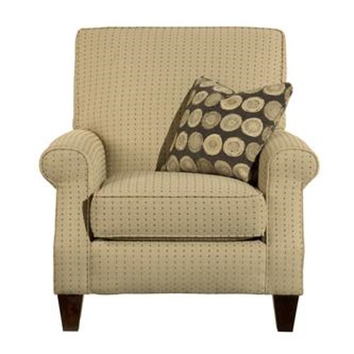 Kincaid Furniture Accent Chairs Madison Rolled Arm Accent Chair