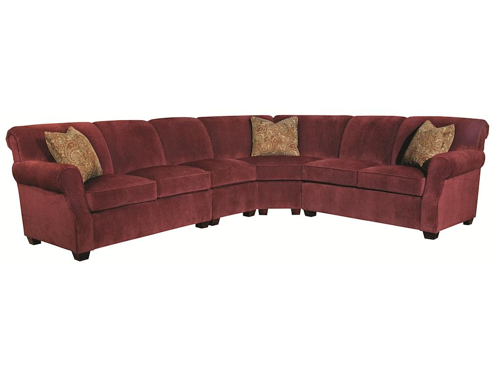 Kincaid Furniture Lynchburg4 Piece Sectional Sofa