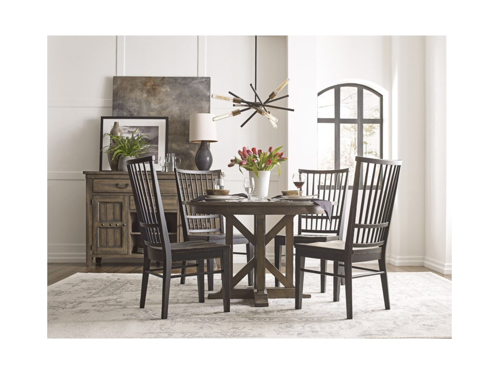 Kincaid Furniture Mill HouseCasual Dining Room Group
