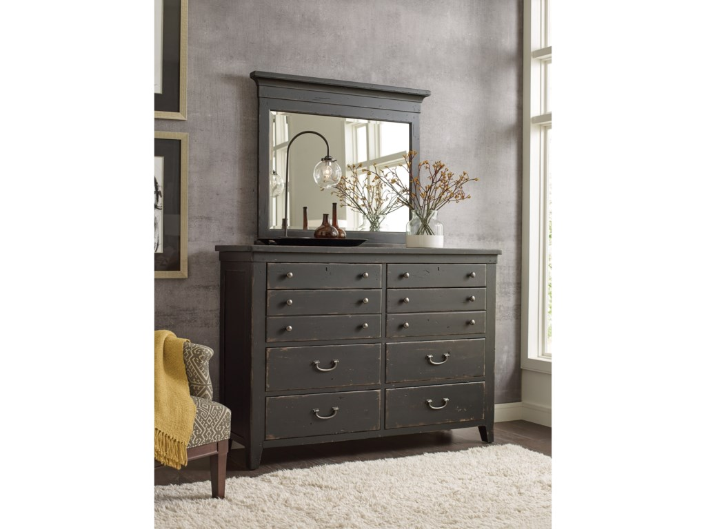 Kincaid Furniture Mill House Baxley 8-Drawer Dresser and ...