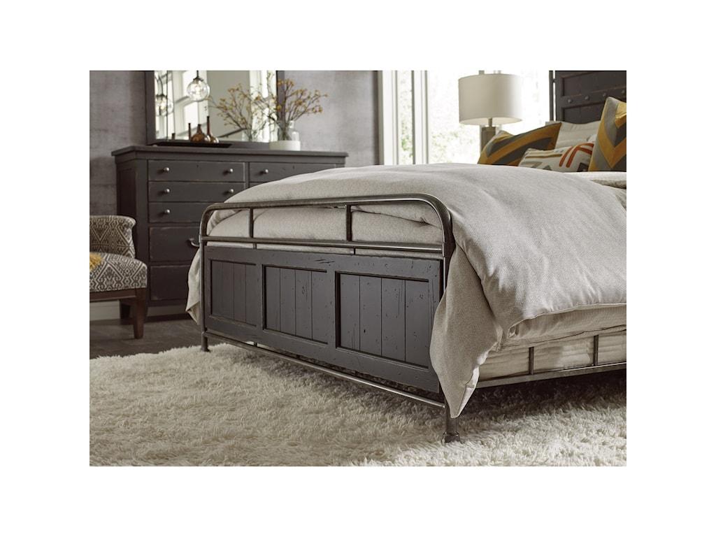 Kincaid Furniture Mill HouseFolsom Queen Metal Bed