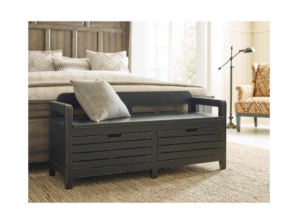 Kincaid Furniture Mill HouseEngold Bed End Bench