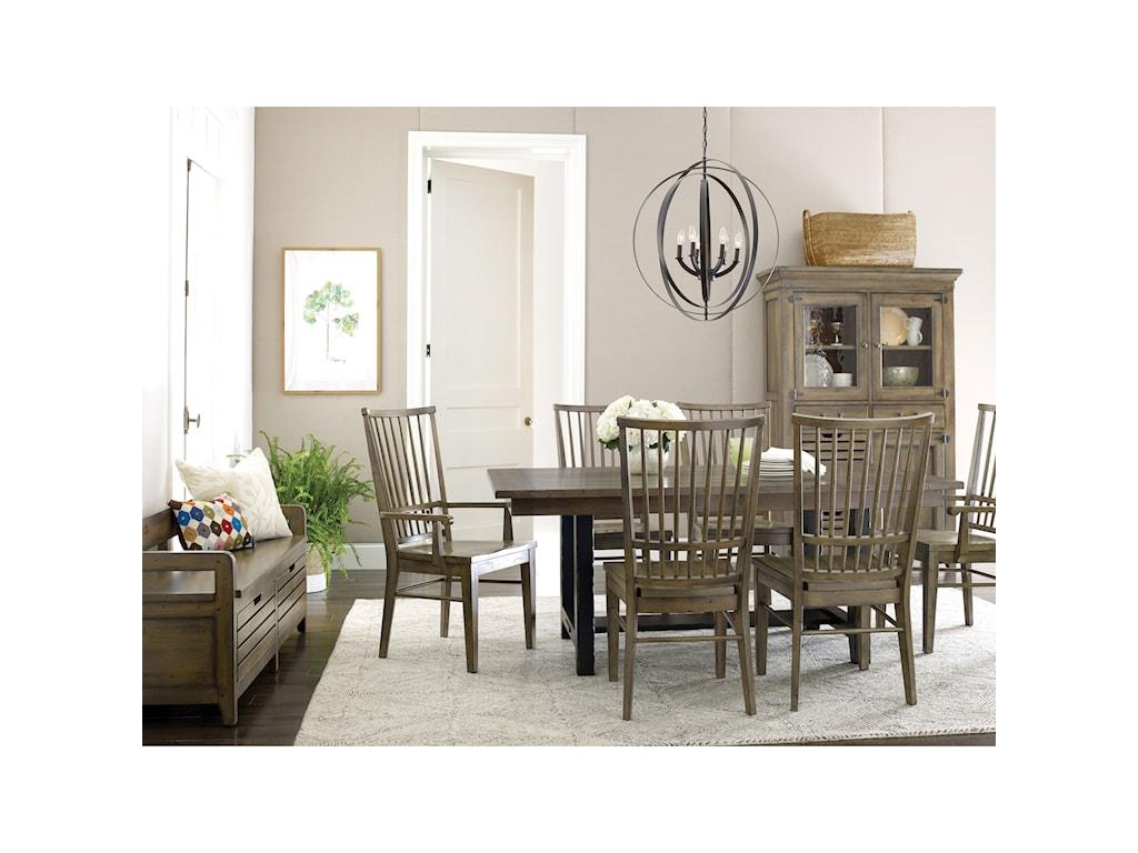 Kincaid Furniture Mill HouseCooper Arm Chair