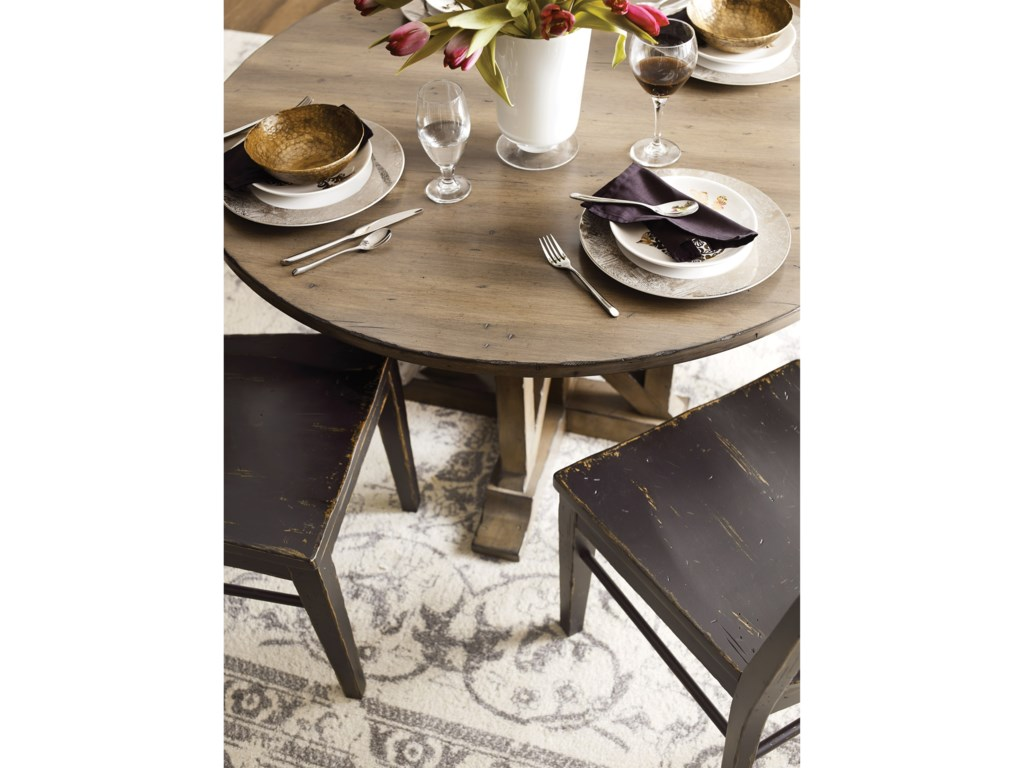 Kincaid Furniture Mill HouseManning Round Dining Table