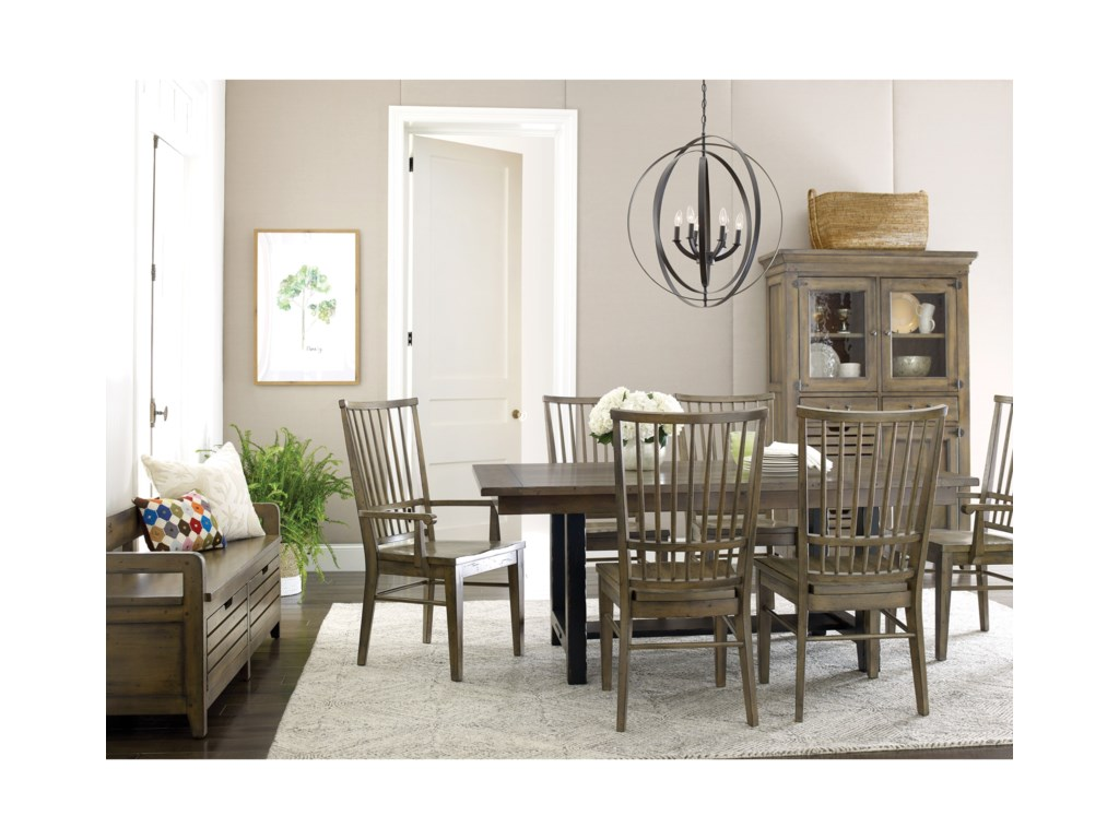 Kincaid Furniture Mill House 860-890 Coleman Solid Wood ...