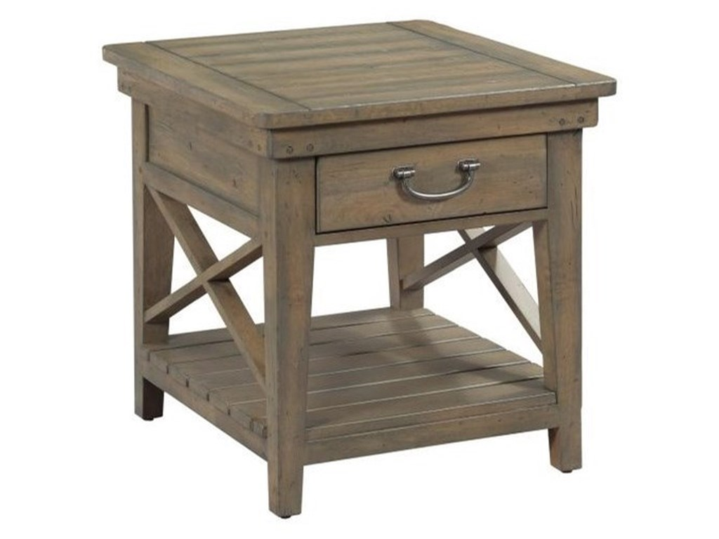 Kincaid Furniture Mill HouseWinkler End Table