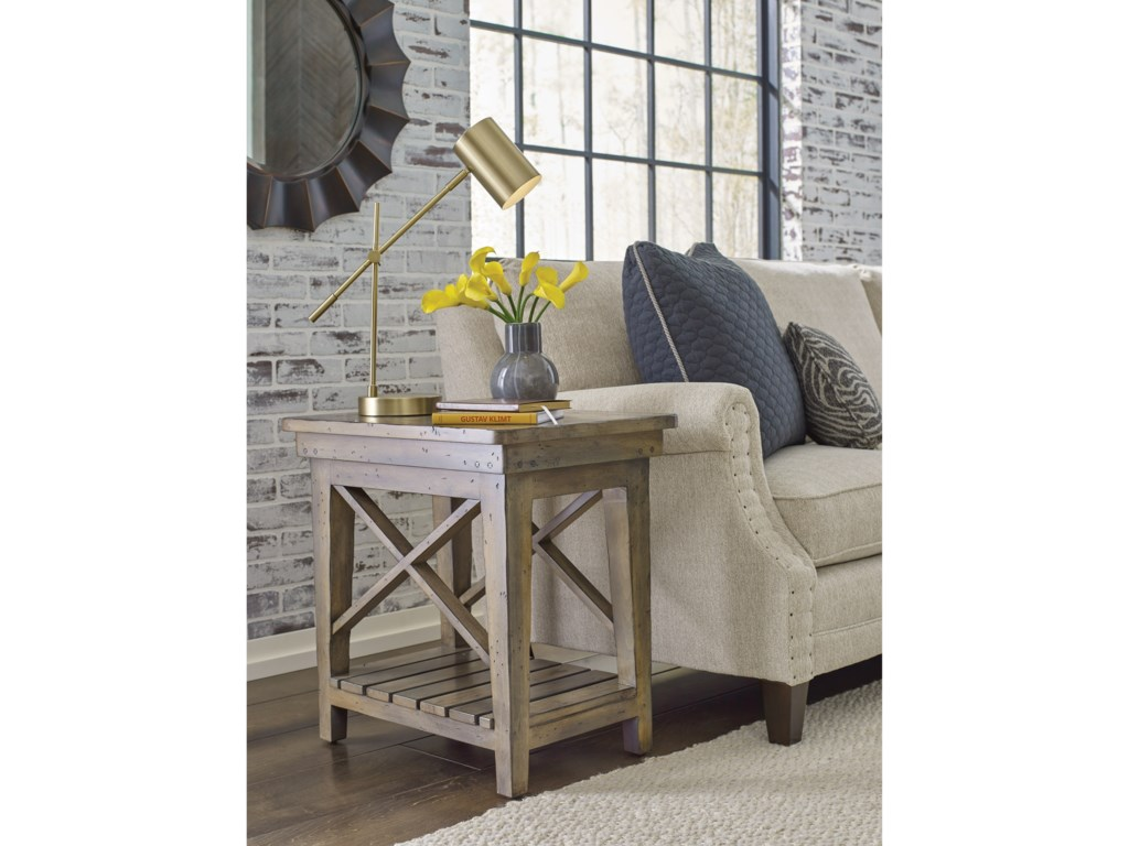 Kincaid Furniture Mill HouseMelody Chairside Table