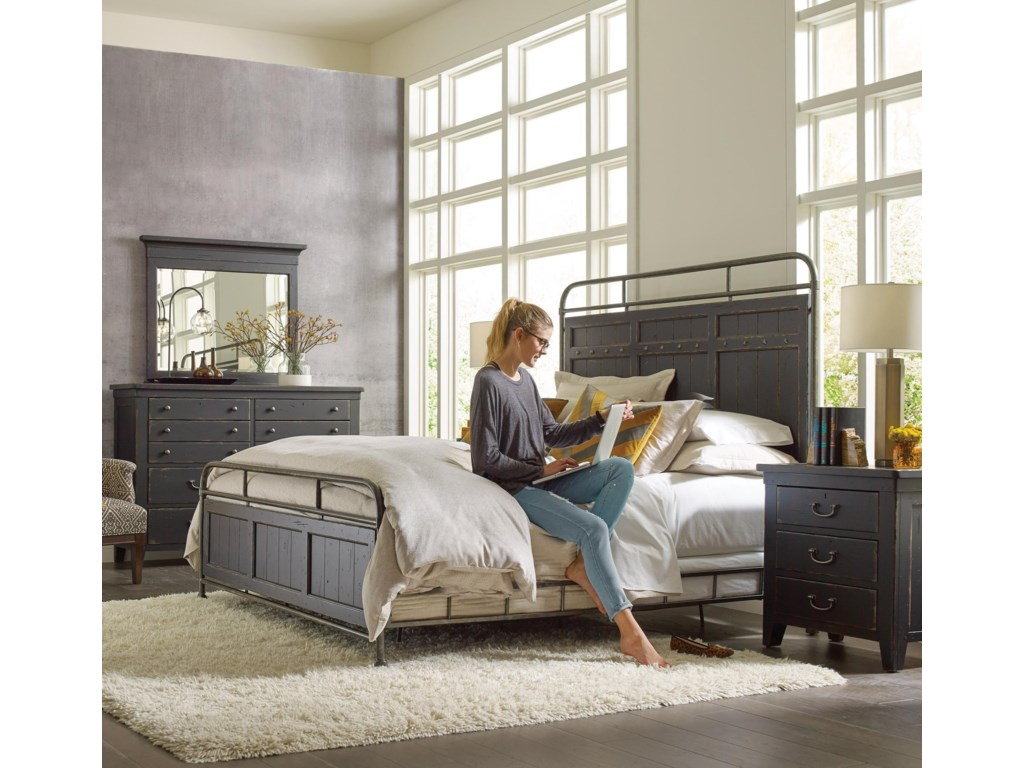 Kincaid Furniture Mill HouseQueen Bedroom Group