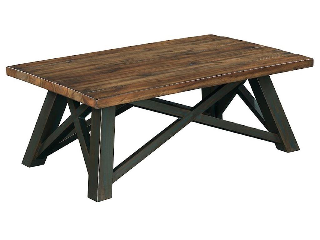 Kincaid Furniture Modern Clics Occasional Tablesrectangular Tail Table