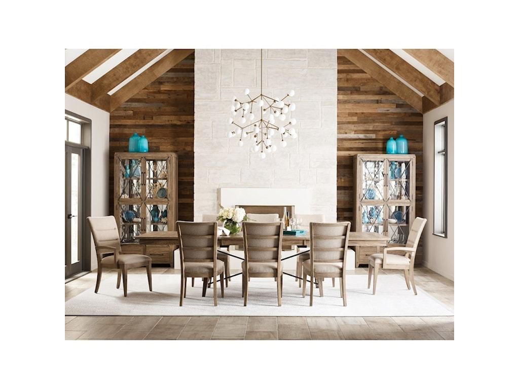 Kincaid Furniture Modern ForgeFormal Dining Room Group
