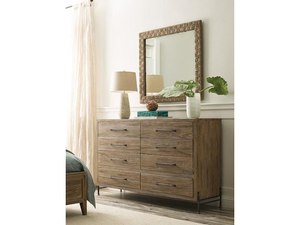Kincaid Furniture Modern ForgeWoven Mirror
