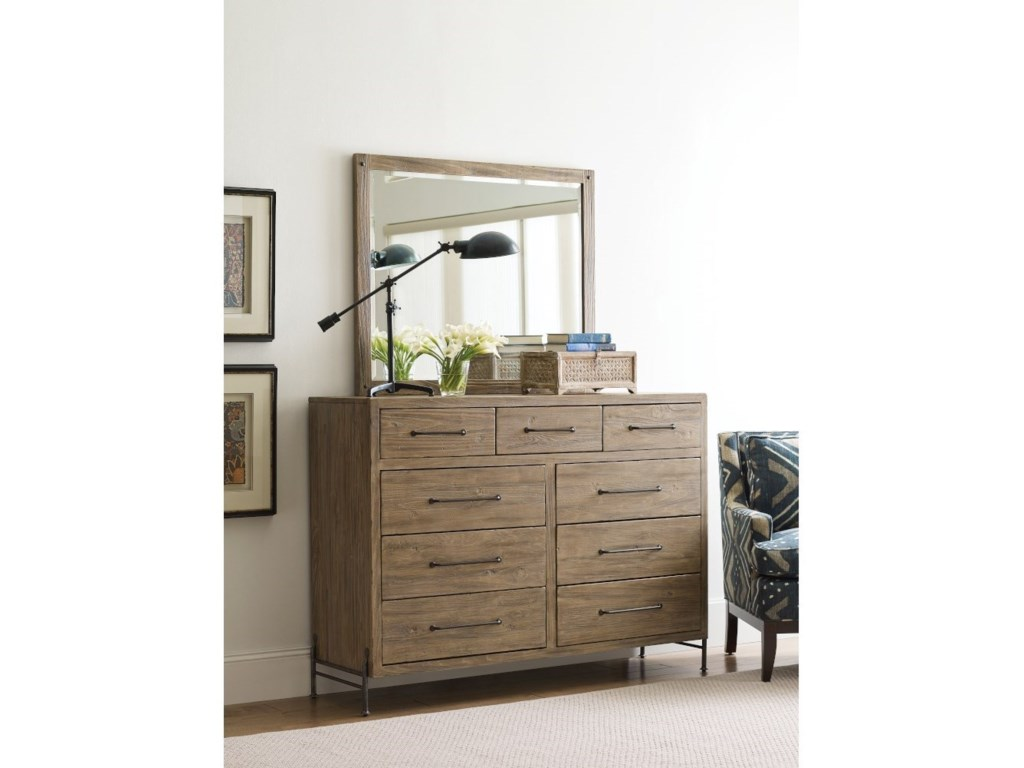 Kincaid Furniture Modern ForgeLandscape Mirror