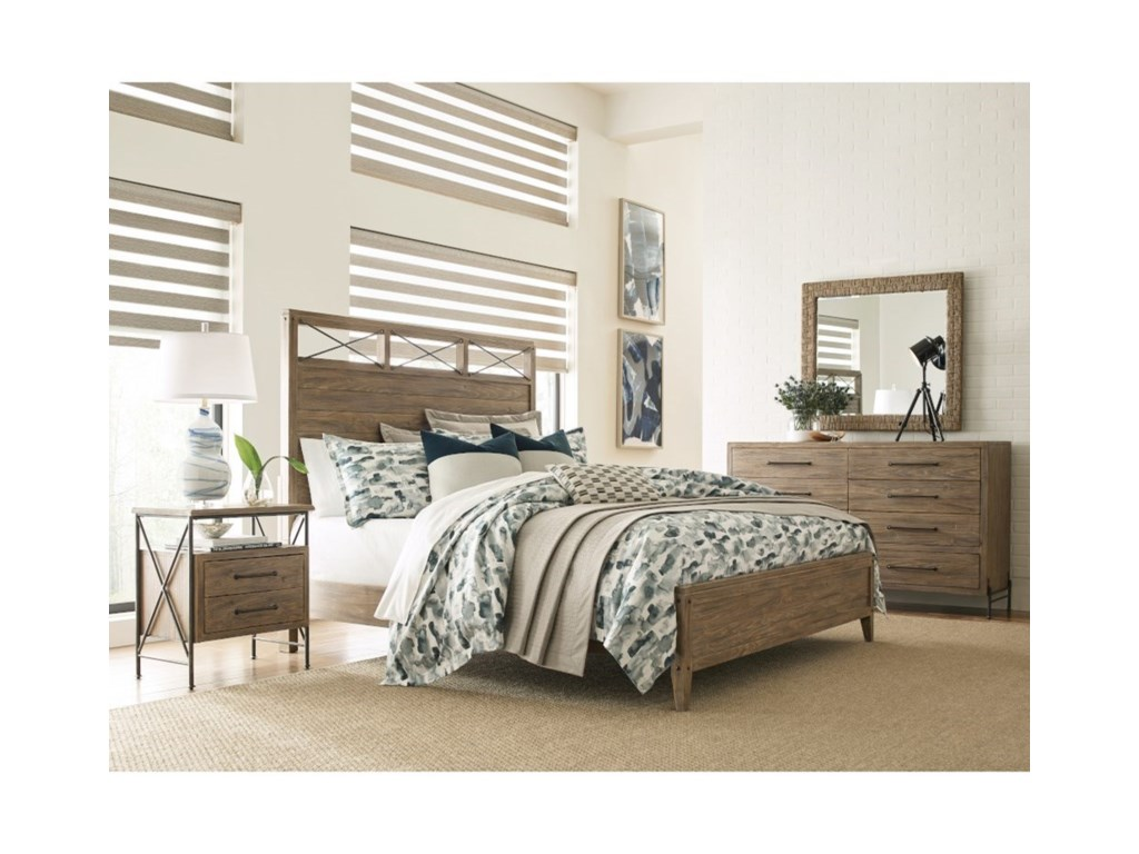 Kincaid Furniture Modern ForgeJackson Queen Bed