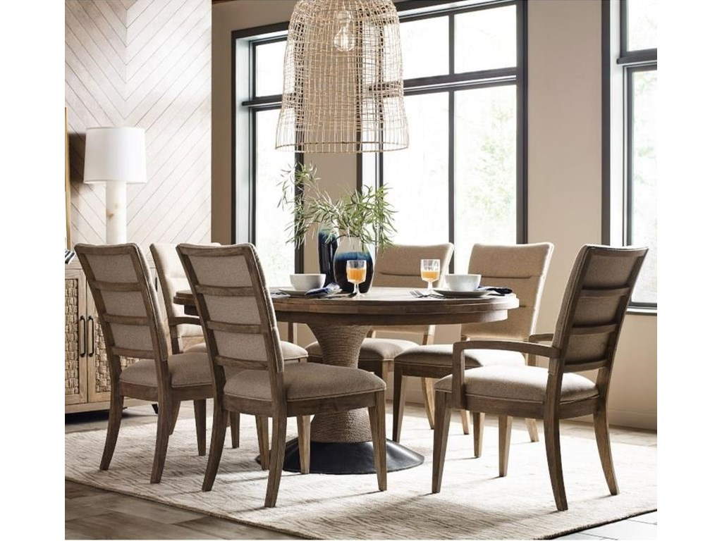 Kincaid Furniture Modern Forge7-Piece Dining Set