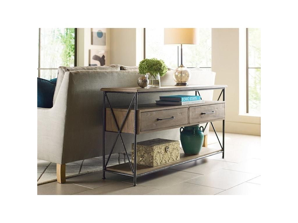 Kincaid Furniture Modern ForgeSofa Table