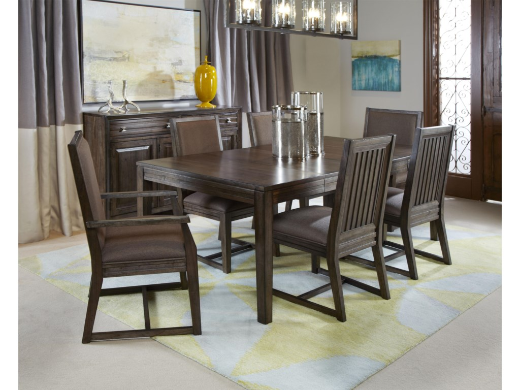 Kincaid Furniture Montreat7 Pc Formal Dining Set