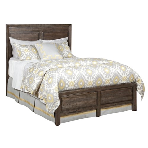 Kincaid Furniture Montreat California King Borders Platform Bed