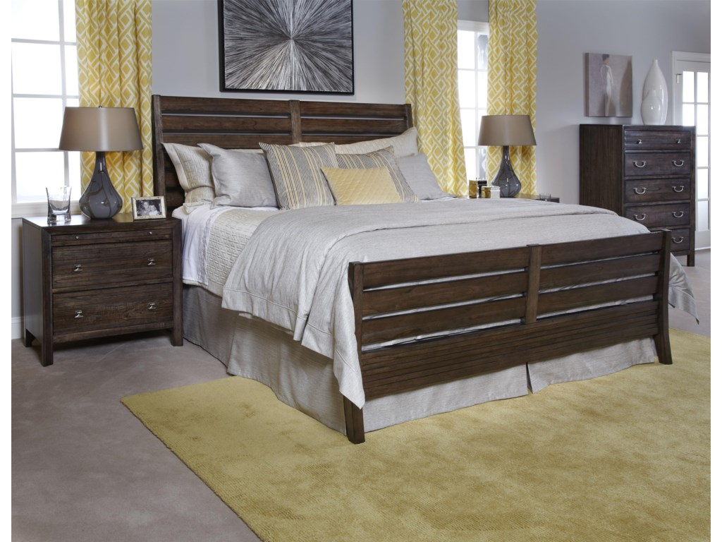 Kincaid Furniture MontreatC. King Rake Bed