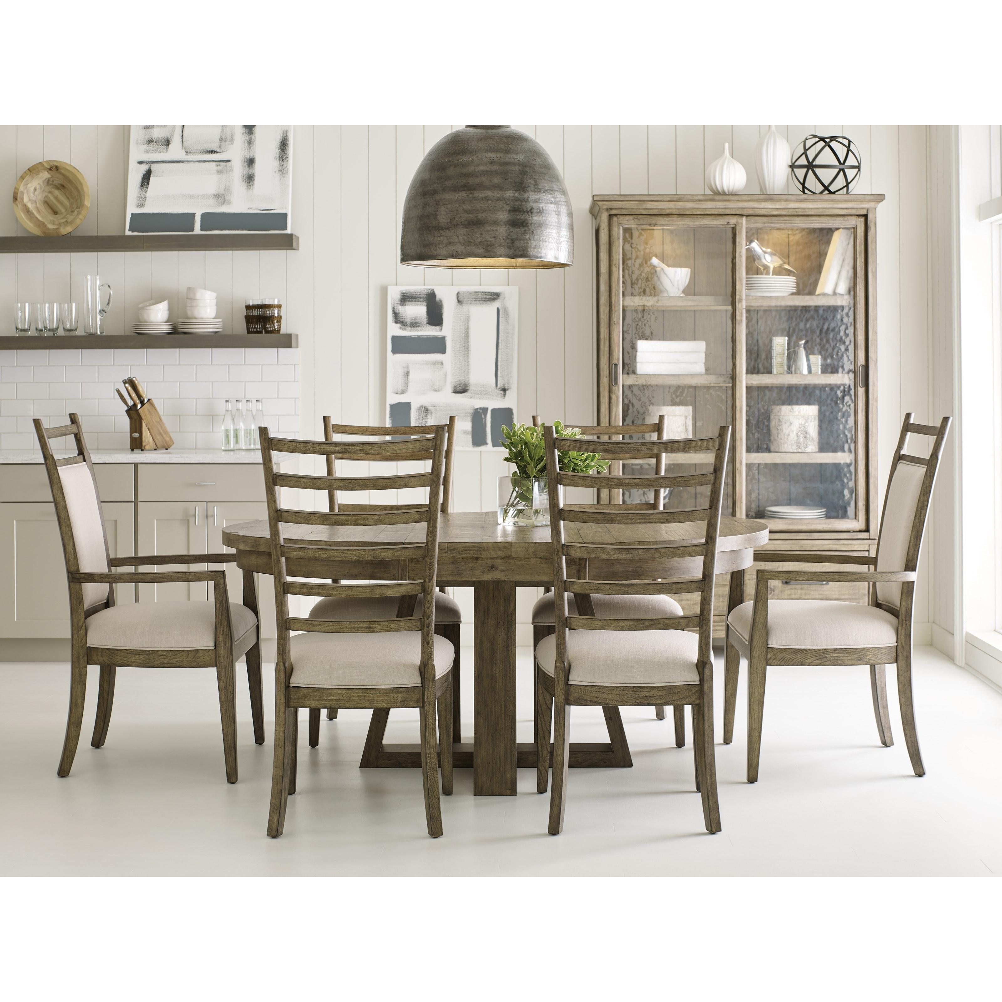 Kincaid Furniture Plank RoadFormal Dining Room Group