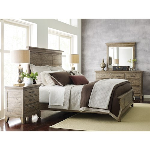 Kincaid Furniture Plank Road Queen Bedroom Group