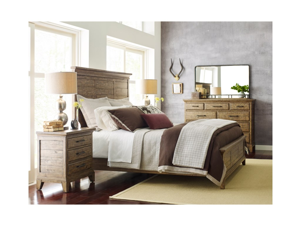 Kincaid Furniture Plank RoadKing Bedroom Group