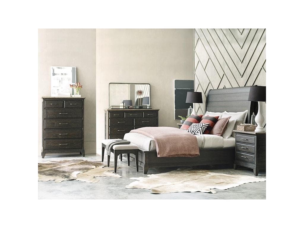 Kincaid Furniture Plank RoadWestwood Landscape Mirror