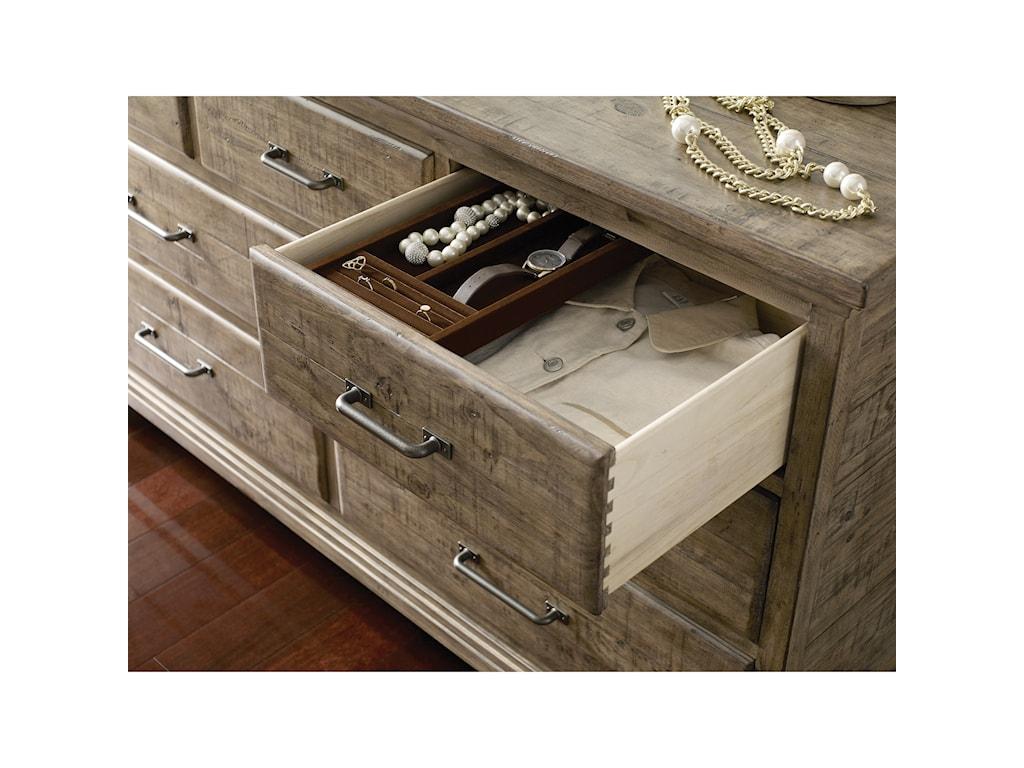 Kincaid Furniture Plank RoadFarmstead Dresser