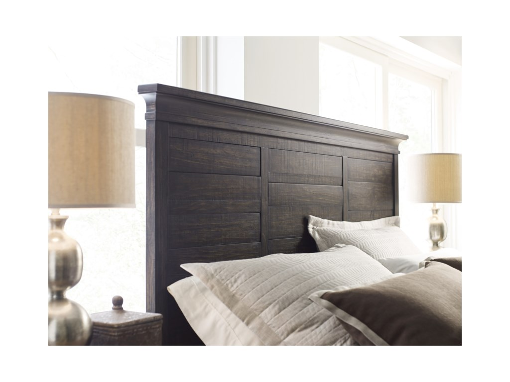 Kincaid Furniture Plank RoadJessup Panel Queen Bed
